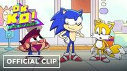"""OK KO! Let's Be Heroes """"Let's Meet Sonic"""" Official Clip - Comic Con 2019"""