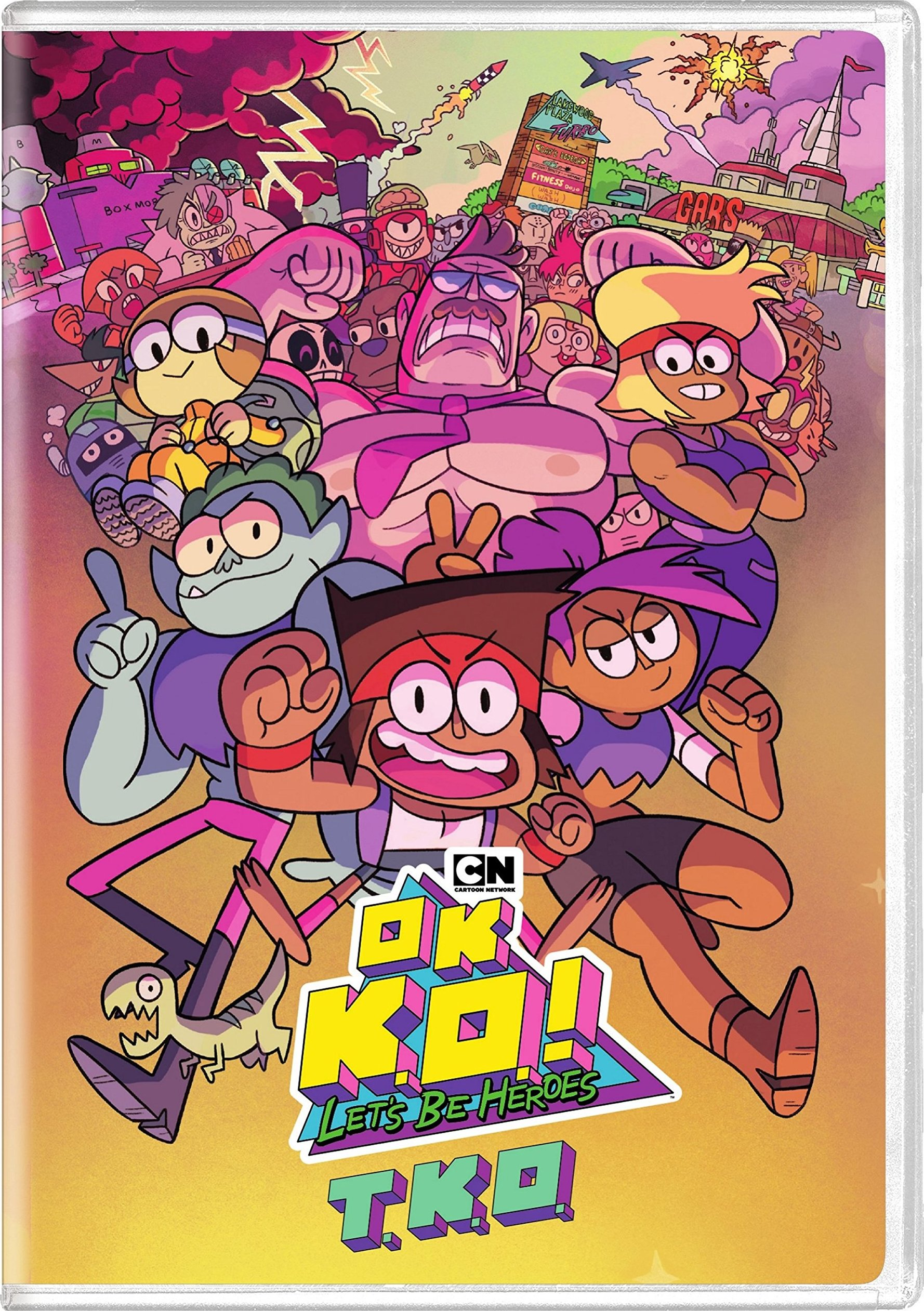 OK K.O.! Let's Be Heroes Season 1 (Australian Set)