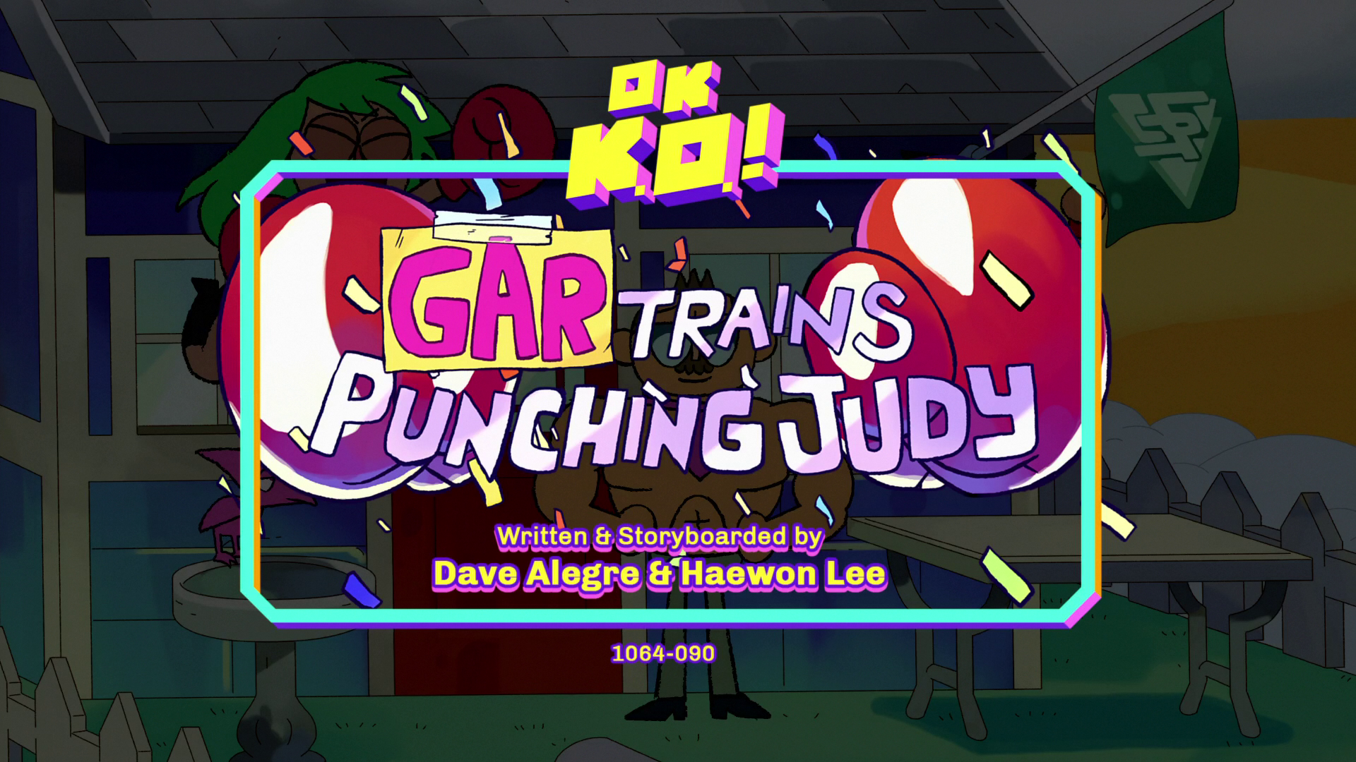 Gar Trains Punching Judy