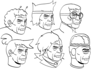 OKKO Faces Drawing Dave