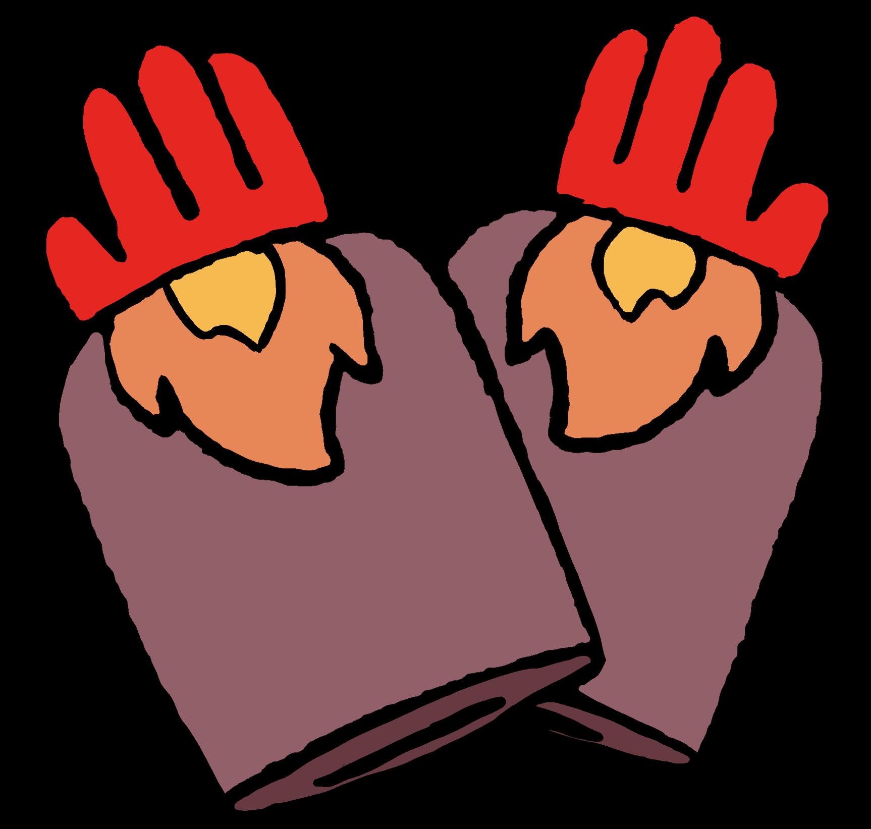 Flame Gauntlets