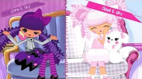 Lalaloopsy Girls - Storm E. y Cloud E. Sky