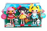 Alice in Lalaloopsyland, Scarlet Riding Hood & Snowy Fairest - large core dolls - Fairytales 3-pk