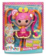 Whirly Stretchy Locks Stretchy Hair Doll box