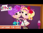 A Show at Crumbs' Cafe! - Episode 7- Spot Gets Helpful - We're Lalaloopsy Shorts