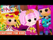 Blown Away By the Music - Episode 3- Spot's Good Hair Day - We're Lalaloopsy Shorts