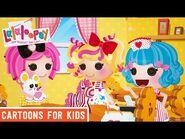 Singin' Tea Party - Episode 9- Rosy's Quiet Tea - We're Lalaloopsy Shorts