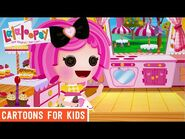 The Perfect Cupcakes! - Episode 5- Crumbs' Perfect Spoon - We're Lalaloopsy Shorts