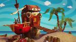 Casa-barco de Patch