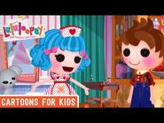 A New Pet in Lalaloopsy Land! - Episode 13- Forest Finds a Stray - We're Lalaloopsy Shorts