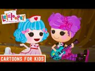 The Power of Teamwork - Episode 6- Rosy Needs a Hug - We're Lalaloopsy Shorts