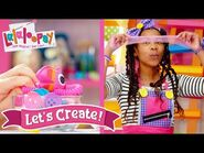 Make Beautiful Bows! - Episode 11- Silly Hair Time - Lalaloopsy- Let's Create