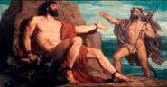Heracles y Prometeo