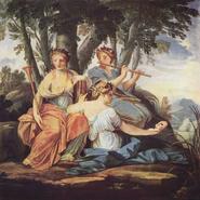 Meletea, Mnemea y Aedea