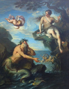 Glauco, Escila y Eros