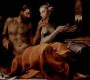 Odiseo y Penélope