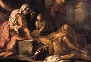 Liríope llevando a Narciso ante Tiresias