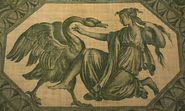 Leda y Zeus Cisne