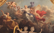 Cloris y Céfiro coronando a Rea