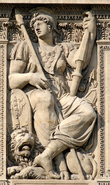 Estatua de Belona