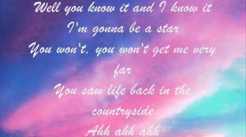 A_Star_for_Nick_-_Lyrics