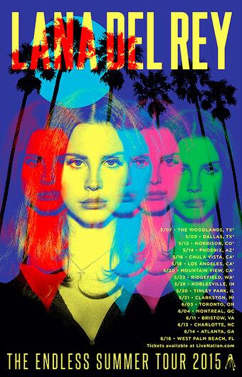 Endless Summer Tour Lana Del Rey Wiki Fandom