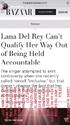 Lana Del Rey. Instagram story 1 (March 20, 2021)
