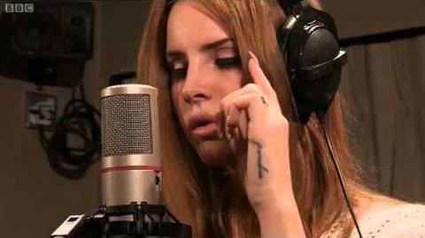 Lana Del Rey Born To Die BBC Radio 1 Live Lounge 2012