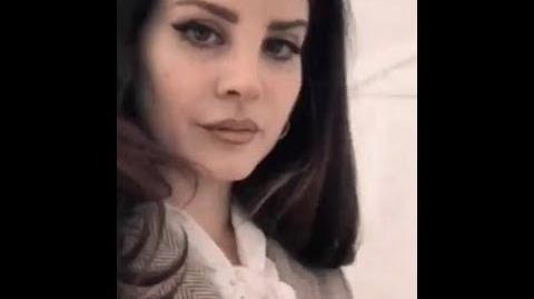Lana Del Rey by Steven Klein for V Magazine (Behind the Scenes 2)