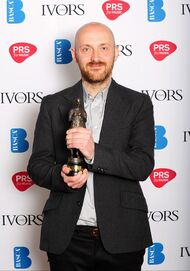 Justin Parker - Ivor Novello awards.jpg