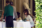 Out for lunch with Francesco Carrozzini and Franca Sozzani in Stresa2C Italy 28August 229 281229