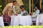 Out for lunch with Francesco Carrozzini and Franca Sozzani in Stresa2C Italy 28August 229 281529