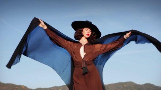 Lana Del Rey as Rosalita for L'Officiel