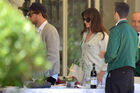 Out for lunch with Francesco Carrozzini and Franca Sozzani in Stresa2C Italy 28August 229 281029