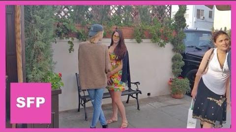 Lana Del Rey and her sister Caroline together in LA