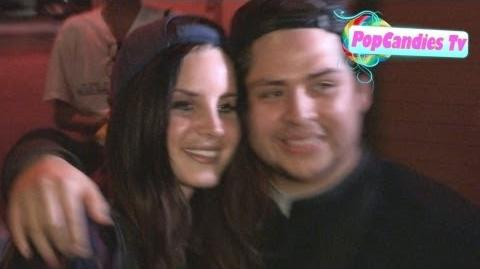 Lana Del Rey departing Courtney Love Concert at Troubadour in West Hollywood