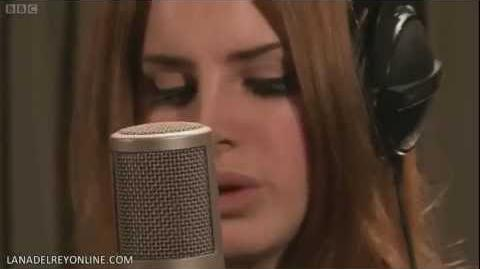 Lana Del Rey - Video Games Live On BBC's Radio 1