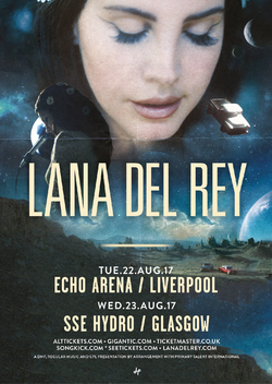 Lust For Life Promo Tour Liverpool Glasgow Poster.png