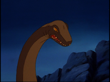 Swimming Sharptooth (Journey Through the Mists)