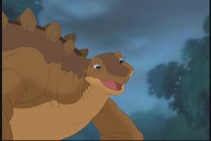 Tippy's Mother, the Stegosaurus.