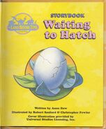 Waiting to Hatch Title Page
