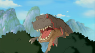 The Land Before Time TV Series - Red Claw roar