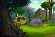 Ouranosaurus background