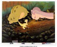 The Land Before Time Spike Ducky Littlefoot deleted scene