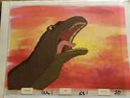 Littlefoot's Mother Reacting to Death Bite