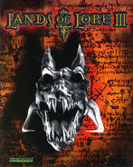 Lands of Lore III cover - Germany