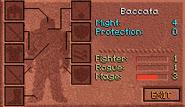 Baccata character screen