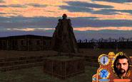 Dracoid Cemetery - Dracoid Statue