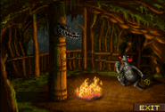 Swamp Witchdoctor interior