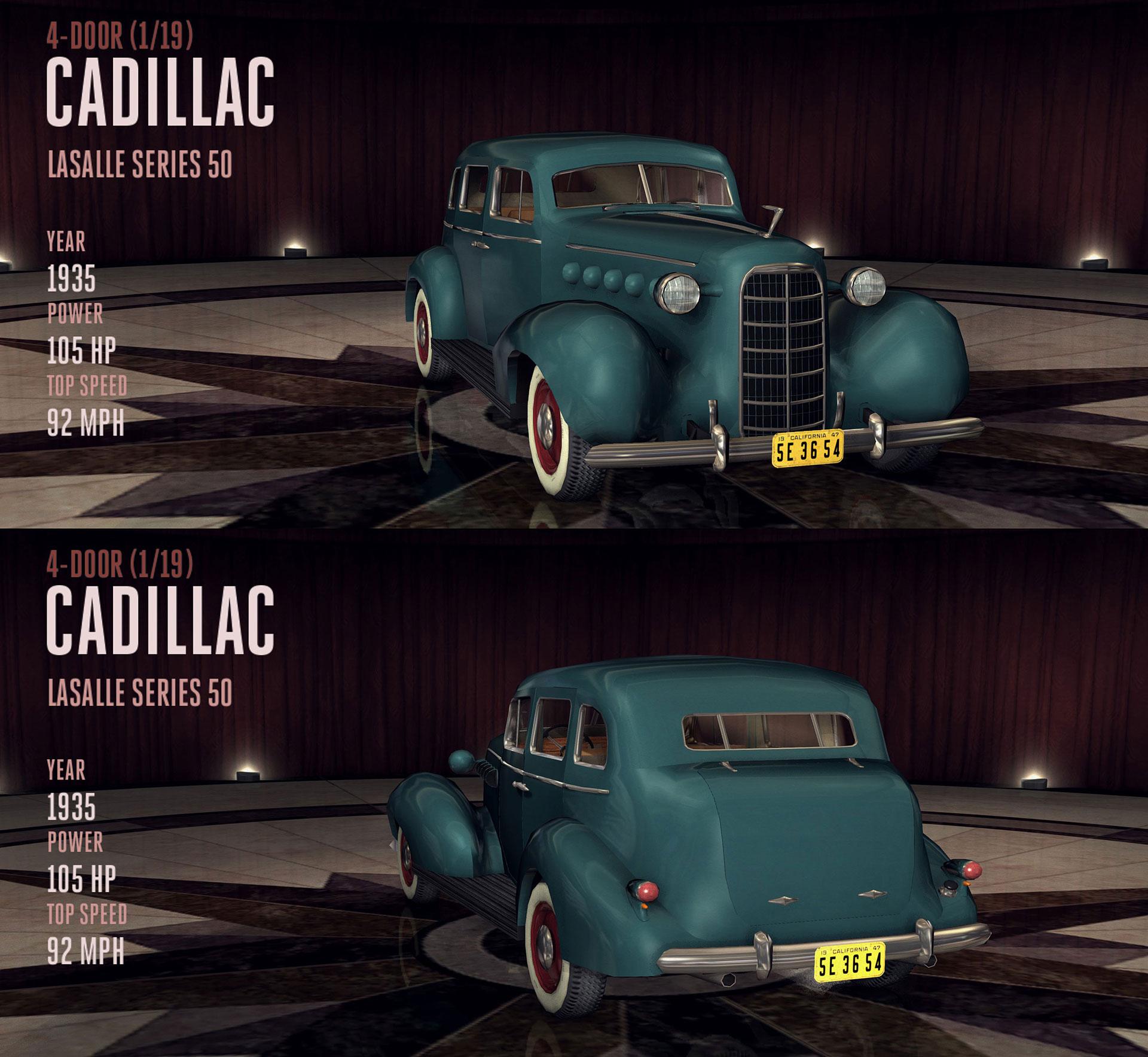 Cadillac LaSalle Series 50